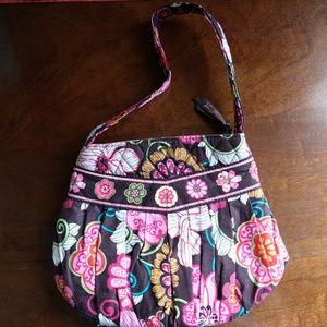 Vera Bradley Mod Floral Pink Mini Handbag